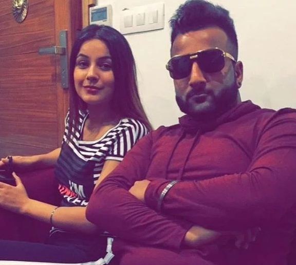 Shehnaaz Gill with her Brother