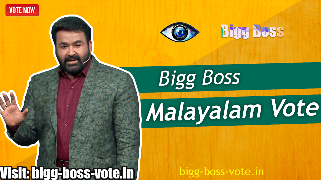 Bigg Boss Malayalam Season 2 Vote